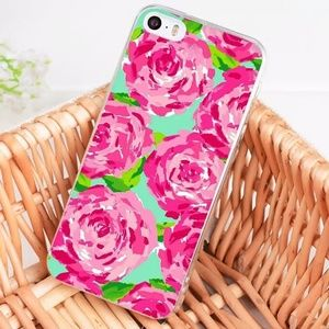 NEW Lilly Pulitzer Print iphone case for 8 plus
